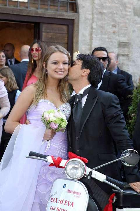 Eva henger matrimonio a roma per l 39 ex regina del porno - Eva henger porno diva ...