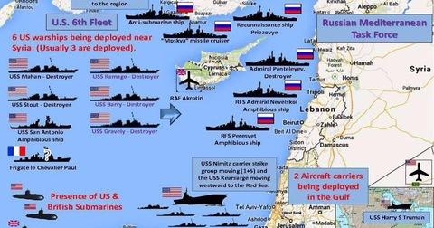 Usa, Francia e Gran Bretagna attaccano la Siria. I russi: lanciati 100 missili