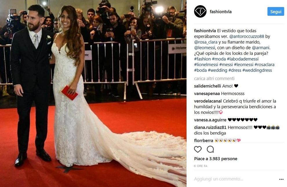 Matrimonio Messi : Il matrimonio di lionel messi messaggero