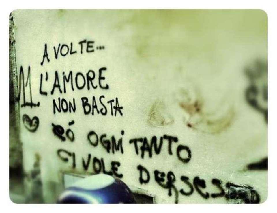 L 39 amore sui muri le scritte pi divertenti raccolte in un - Scritte muri casa ...