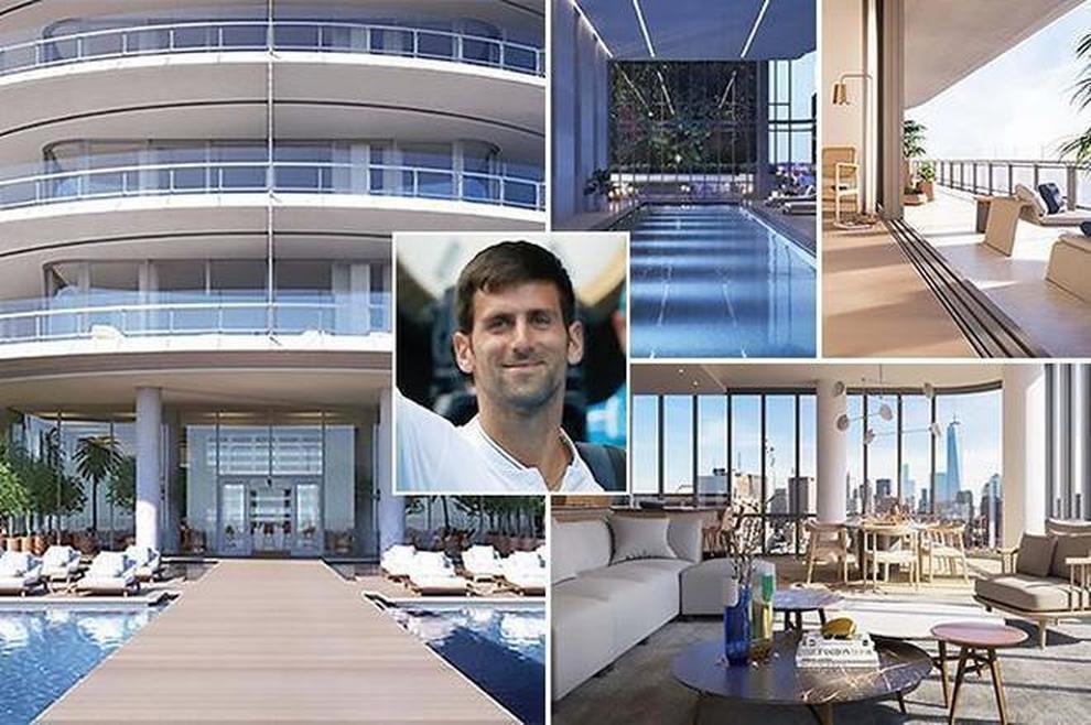 Novak Djokovic Home