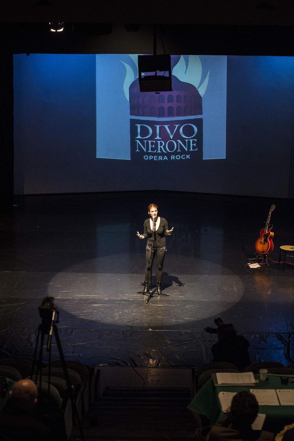 Divo nerone il casting per il colossal musical il - Divo nerone musical ...