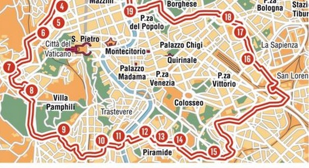 Cartina Ztl Roma.Roma Bus Turistici Da Oggi 21 Varchi Attivi Ma Per Ora Niente Multe