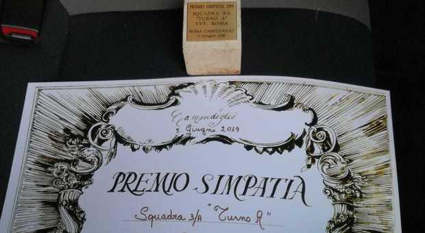 Roma, salvarono una vecchietta di 96 anni sul balcone chiusa fuori dalla sorella di 106 anni. Premio Simpatia alla squadra 3/A del Tuscolano I°
