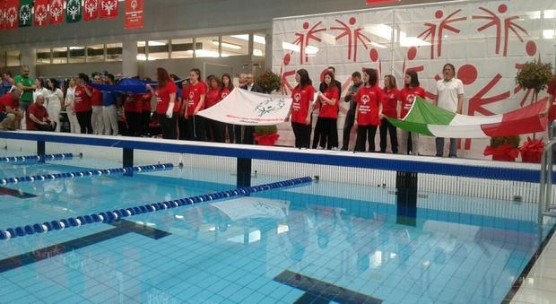 Fondi Mobili Per Piscina : Rieti nella piscina di campoloniano in per i giochi regionali